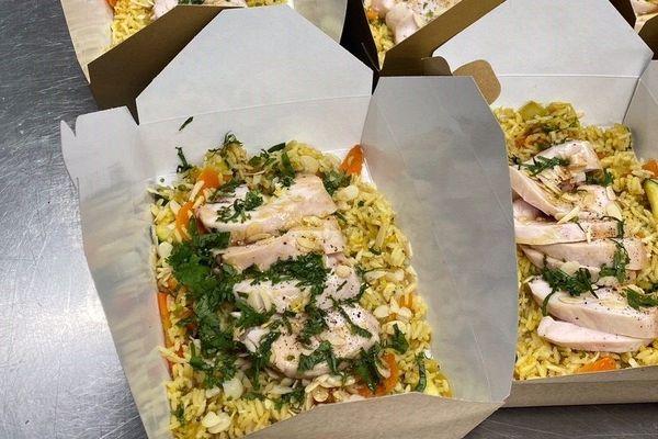 Une recette de chef pour les urgentistes de l'Hôpital de la Cavale Blanche de Brest: un blanc de volaille basse température accompagné d'un riz sauté signé Julien Marseault