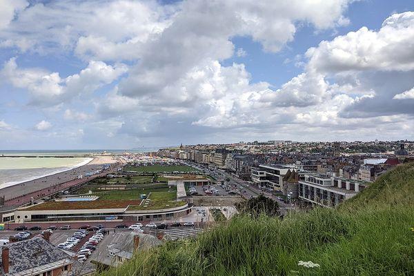 En Seine-Maritime, un ciel nuageux sur Dieppe en ce MARDI.