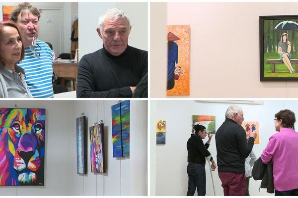 L'exposition a lieu au 115 Galerie d'art, du 25 au 31 octobre.