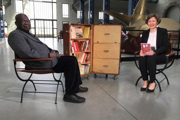 Kofi Yamgnane, invité de la Bibliothèque Vagabonde aux Ateliers des Capucins à Brest