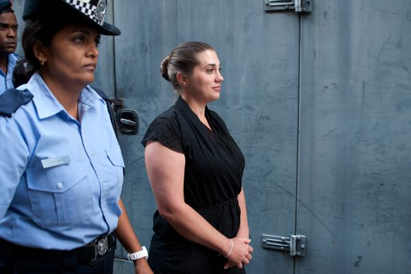 Aurore Gros-Coissy avait assisté à son premier procès mais elle a décidé cette fois de ne pas assister à l'audience