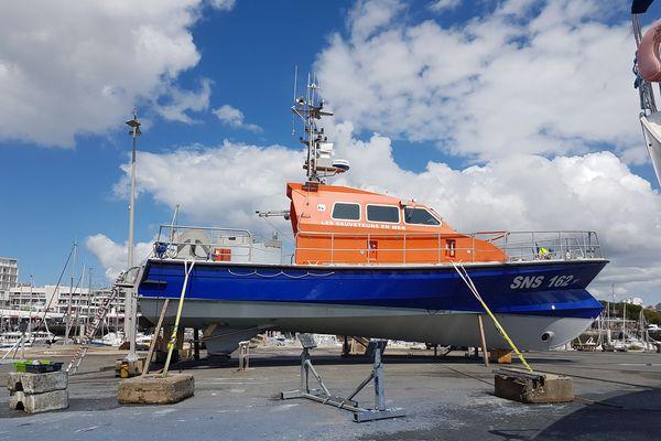 La vedette de la SNSM de Royan bientôt prête pour reprendre la mer
