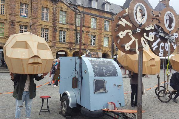 """Le spectacle """"Headspace"""" des Hollandais de la Compagnie Electric Circus"""