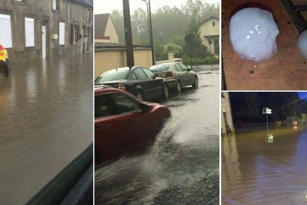 Des photos des inondations dans l'Avesnois et le Cambrésis ce jeudi soir.