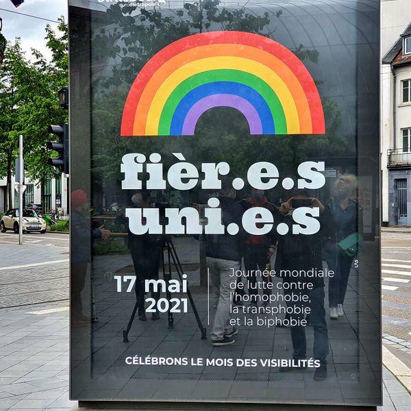 La municipalité communique résolument sur le mois des visibilités LGBTQIA+.