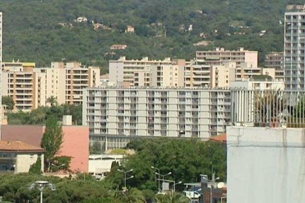 Quatre quartiers sont concernés à Ajaccio.