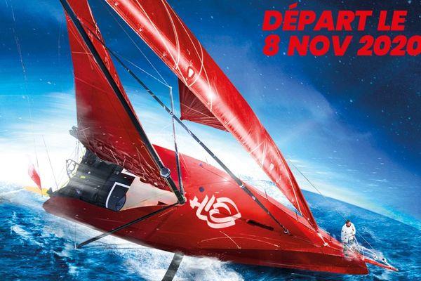 Une affiche du Vendée Globe 2020 qui interroge