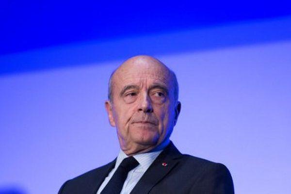 Alain Juppé le 27 septembre à Paris.