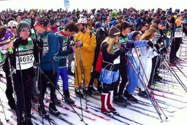 Rendez-vous incontournable du ski de fond, la Foulée Blanche réunit des milliers de personnes à chaque édition.