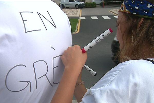 Le personnel des urgences de l'hôpital de Perpignan a commencé une grève illimitée lundi 24 juin 2019