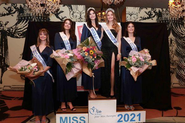 Voici les 4 candidates à l'élection Miss Allier 2021 retenues pour représenter leur département au concours Miss Auvergne.