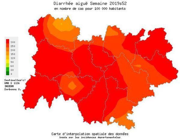 Tous les départements d'Auvergne-Rhône-Alpes sont concernés.