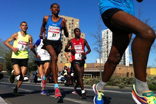 Le marathon de Nantes, édition 2016