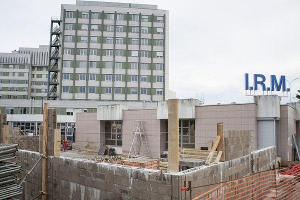 La fin des travaux est prévue pour mars 2015