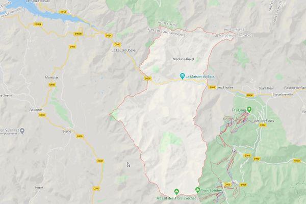 Deux italiens grièvement blessés dans un choc frontal contre une voiture à Méolans-Revel.