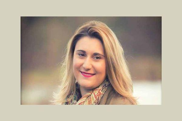 Justine Guyot, maire de Decize, dans la Nièvre