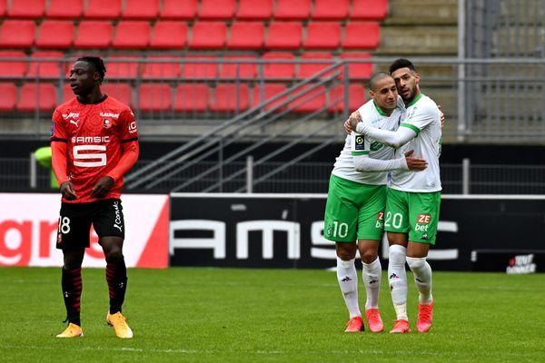 L'ASSE se relance à Rennes grâce à une victoire 0-2