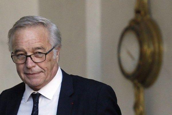 François Rebsamen, maire de Dijon et président du Grand Dijon