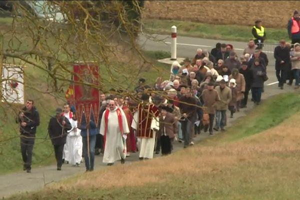 Ce dimanche à l'occasion de la fête de la Saint Fris, les paroisses d'Astarac organisent un pèlerinage en soutien des agriculteurs touchés par les calamités.