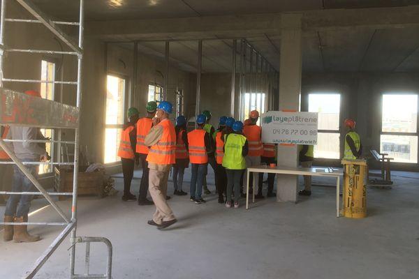 C'est un chantier sur la presqu'île scientifique de Grenoble qui ouvre ses portes cette année.