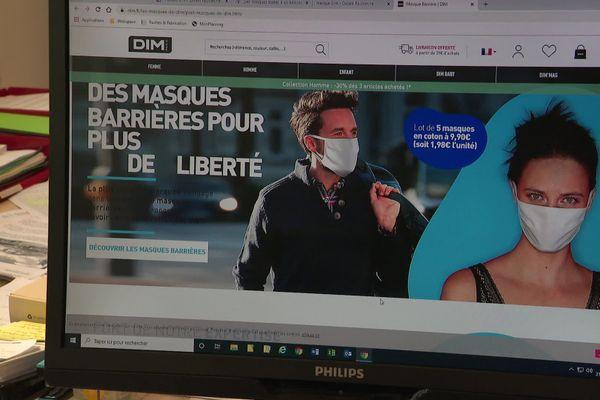 Depuis le mois de mai, l'entreprise DIM a transformé plusieurs de ses usines pour produire des masques.