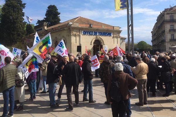 La mobilisation nationale du 11 avril était la 7ème pour les retraités depuis l'arrivée au pouvoir d'Emmanuel Macron