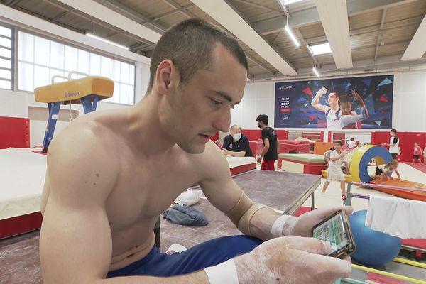 Cyril Tommasone va tout donner aux JO de Tokyo. Il s'y prépare activement, notamment à l'aide d'une application spéciale.