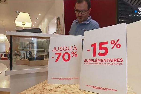 Selon des commerçants ajacciens, les soldes n'attirent pas.