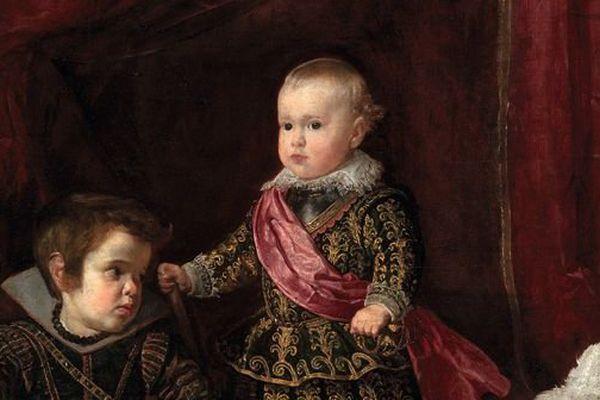 Portrait de l'infant Baltasar Carlos avec un nain vers 1631 huile sur toile, 128 x 102 cm Boston, Museum of Fine Arts
