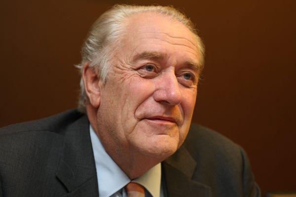 Jean-Paul Bachy, président de la région Champagne-Ardennne