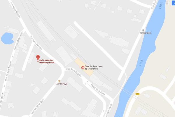 L'accident s'est produit sur le site EDF de Saint-Jean-de-Maurienne