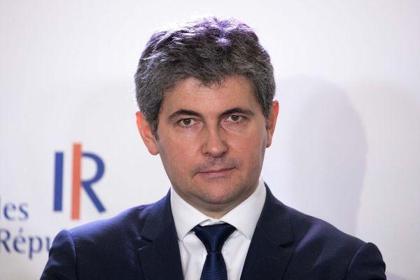 Gilles Platret, maire de Chalon-sur-Saône et porte-parole du parti Les Républicains