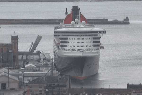 L'escale du Queen Mary en 2014 à Cherbourg était exceptionnelle