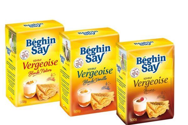 """La marque """"Béghin-Say"""" commercialise un sucre """"saveur vergeoise"""" et joue sur la confusion des consommateurs."""