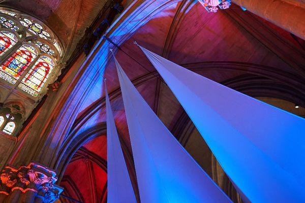 La basilique de Saint-Denis.
