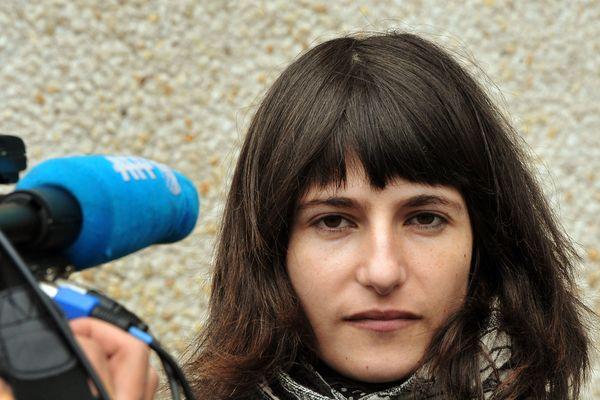 Marion Larat photographiée en 2013.