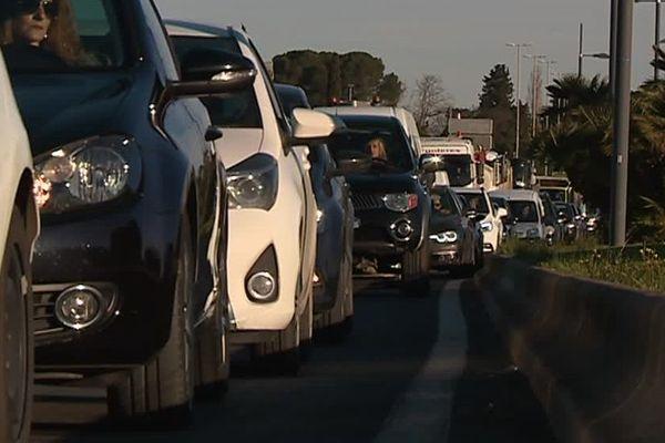 Le trafic routier est le principal facteur de la pollution atmosphérique à Montpellier