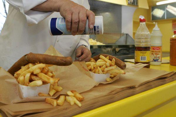 """La friterie Sensas """"Chez Momo"""""""