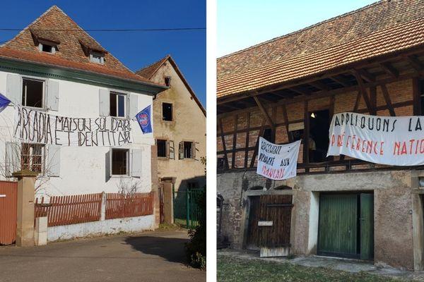 Présent à Strasbourg entre décembre 2017 et décembre 2018, le Bastion Social a rallié Entzheim (Bas-Rhin) depuis le 14 février 2019.