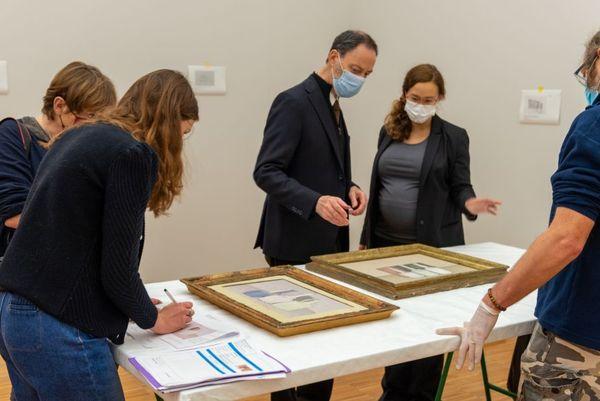 La quasi-intégralité des 70 tableaux, dessins et estampes provient de la Fondation Magnani-Rocca, à Parme, rassemblés par un unique amateur, Luigi Magnani
