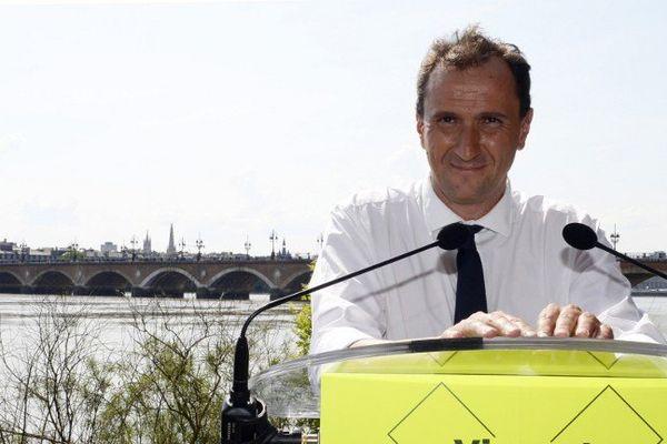 Vincent Feltesse, candidat socialiste aux élections municipales de mars 2014 à Bordeaux.