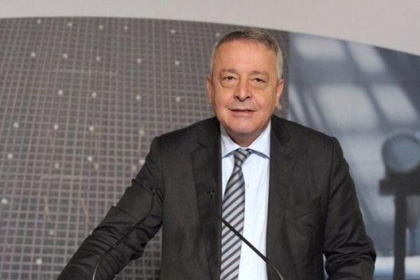 Le PDG de Veolia, Antoine Frérot, actionnaire principal de la SNCM par l'intermédiaire de Transdev (Archives)