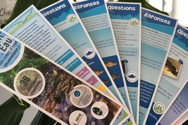 38 questions et autant de réponses dans ce mémento sur le thème des cours d'eau et des bassins versants