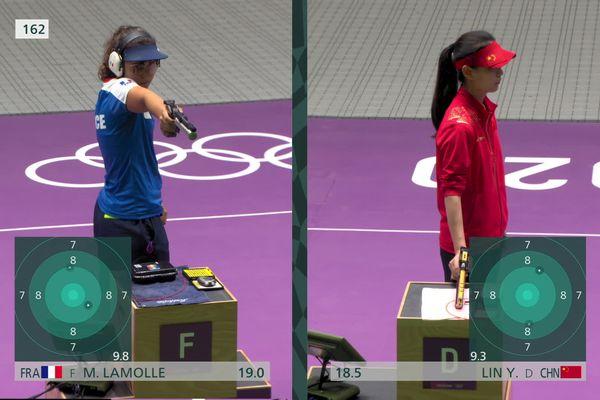 Première finale olympique pour la Provençale Mathilde Lamolle au tir à 10 mètres