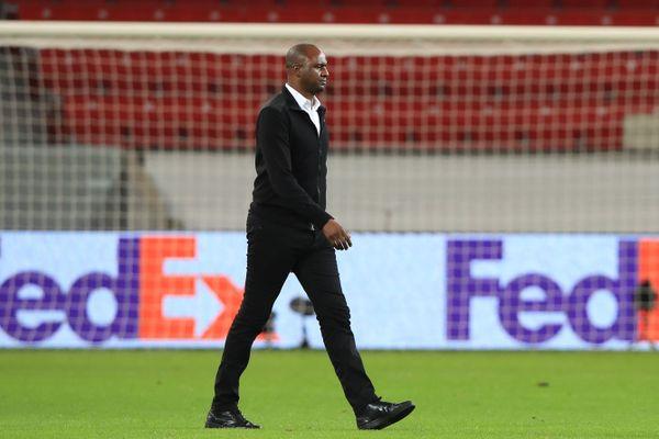 Patrick Vieira après la lourde défaite de Nice sur la pelouse de Leverkusen.