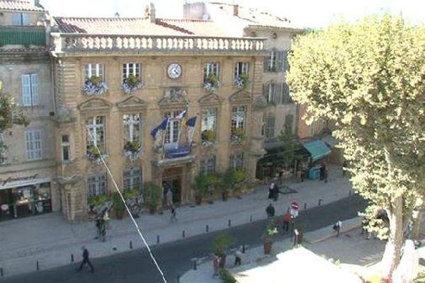 La mairie de Salon-de-Provence dans les Bouches-du-Rhône