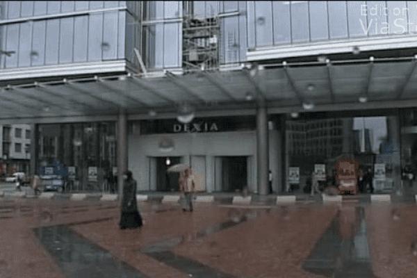 La banque Dexia.