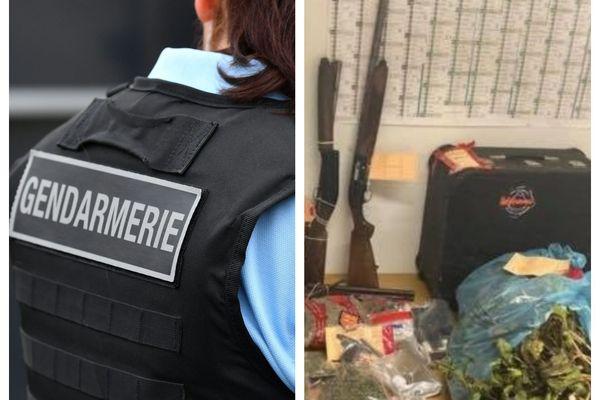 Des stupéfiants, des armes et de l'argent ont été saisis lors des perquisitions dans cette affaire de trafic de drogues dans le bocage.