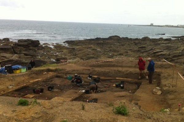 Fouilles archéologiques en Presqu'île de Quiberon