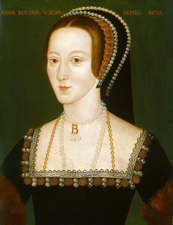 Anne Boleyn peinte entre 1533 et 1536.